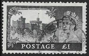 Great Britain 312 Used - Windsor Castle - Elizabeth II