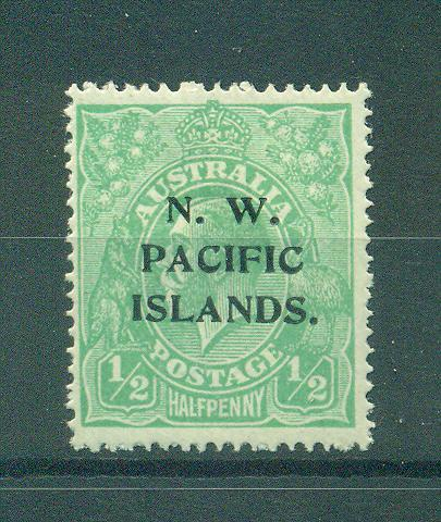 North West Pacific Islands sc# 11 mhr cat value $5.00