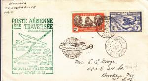 1940, 1st Flt., AAMS F19-8c, Noumea, New Caledonia, See Remark (1289)