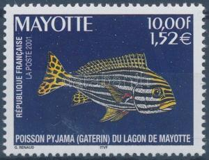 Mayotte stamp Fishes MNH 2001 Mi 100 WS155320