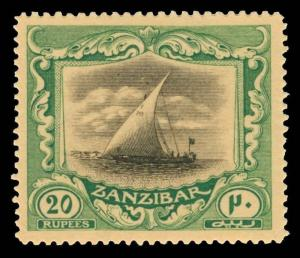 Zanzibar Scott 176 Gibbons 296 Mint Stamp