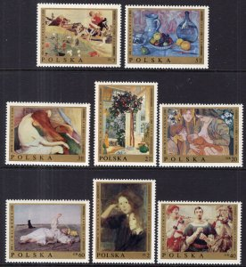 Poland 1675-1683 Paintings MNH VF