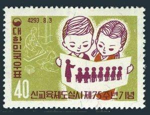 Korea South 306,306a,hinged.Mi 304,Bl.145. Modern Educational System,75.1960.