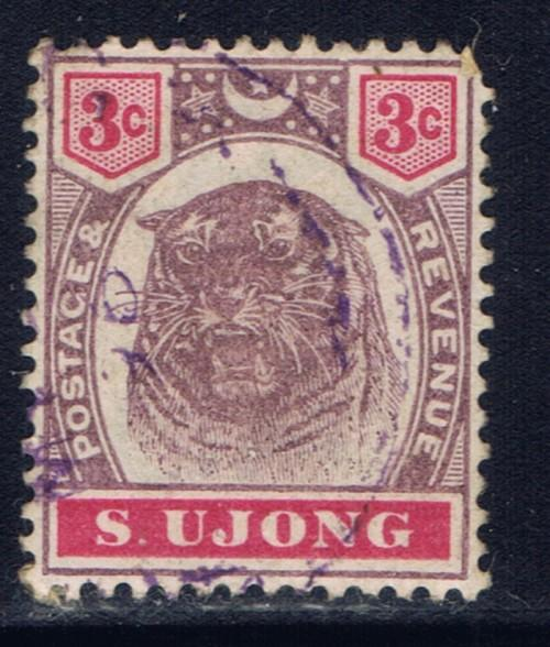Malaya-Sungei Ujong 36 Used 1895 issue missing perf