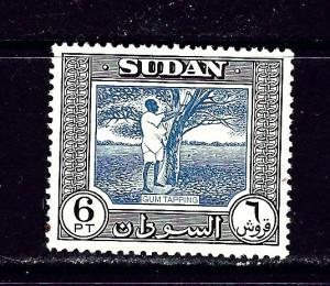 Sudan 110 MH 1951 Gum Tapping