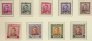 New Zealand Stamps Scott #258 To 268, Mint Never Hinged - Free U.S. Shipping,...