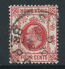 Hong Kong SG 102 Z1026  FU Treaty Port cancel Type G