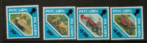 PITCAIRN ISLANDS SG401/4 1991 ISLAND TRANSPORT MNH