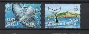 Pitcairn 645-646 MNH
