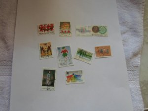 FINLAND STAMPS LOT OF 10 STAMPS IN MIXED CON