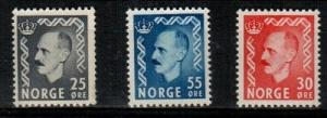 Norway Scott 322-4 Mint NH (Catalog Value $28.40)
