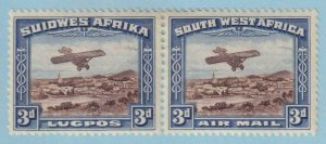 SOUTH WEST AFRICA C5 AIRMAILS  MINT HINGED OG * NO FAULTS EXTRA FINE!