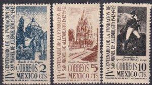 Mexico #781-3  MNH CV $5.60 (Z3717)