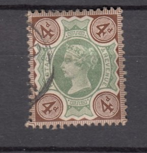 J27523 1887-92 great britain used #116 queen