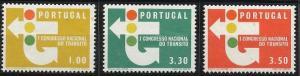 Portugal 942-944 MNH (1965)