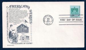 UNITED STATES FDC 30¢ Schools Americana 1979 Aristocrat