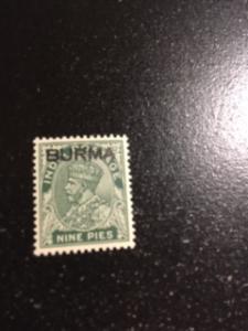 Burma sc 3 MNH