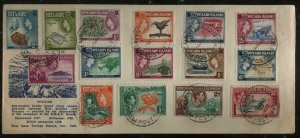 1960 Pitcairn Island Cover 1-4 20-30 First Day Cachet Cover