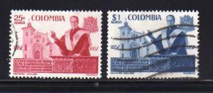 Colombia C315-C316 Set U R. M. Carrasquilla