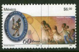 MEXICO 2311, Federico Gomez Childrens Hospital 60th Anniversary. MINT, NH. VF.