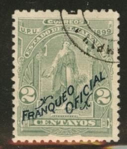 El Salvador Scott o150 Uaed CTO MNG 1899 official