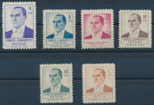 Turkey / 1961, ATATURK COMPLETE SET, MNH