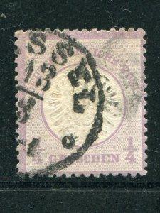 Germany  #14  Used   VF  - Lakeshore Philatelics