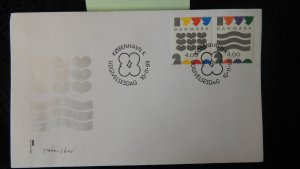 Denmark 1999 FDC new millennium good used