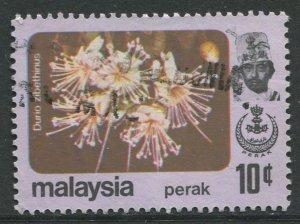 STAMP STATION PERTH Perak #156 Sultan Idris Shah Butterflies Used 1979