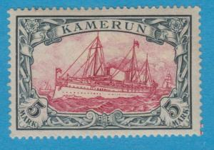GERMAN COLONIES - CAMEROUN 19 MINT LIGHTLY HINGED OG NO FAULTS VERY FINE