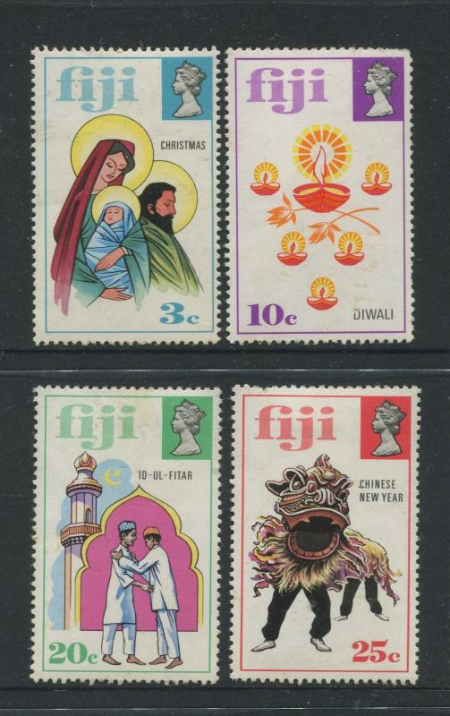 Fiji - Scott 337-340 - General Issue 1973 - MVLH - Set of 4 Stamps