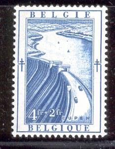 BELGIUM B529 MNH VESDRE DAM 1952
