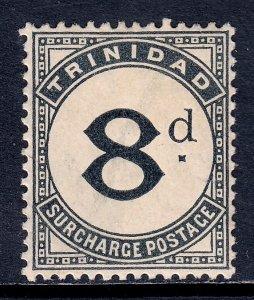 Trinidad - Scott #J16 - MH - Toning - SCV $16