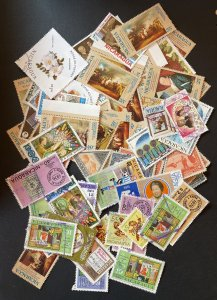 Nicaragua Approximately 68 Stamps Used/Mint/CTO