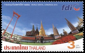 Thailand. 2015. World Dental Congress - Bangkok, Thailand (MNH OG) Stamp