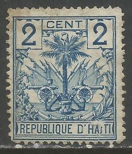HAITI 27 VFU ARMS Y093-2