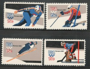 1795-8 Olympic Games Set Of 4 Mint/nh FREE SHIPPING