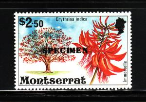 Montserrat 352 SPECMEN MNH Flowering Tree, Immortelle