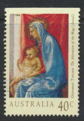 Australia SG 1487a  Used - Christmas  top imperf