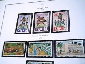 1973  Fiji   MNH  full page auction