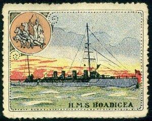 Cinderellas: England Great War Ships - HMS Bodicea (Delandre)