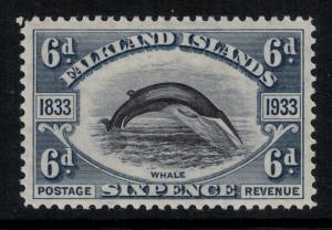 Falkland Island 1933 SC 71 LH CV $70