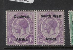 South West Africa SG 23 MOG (2dwd)