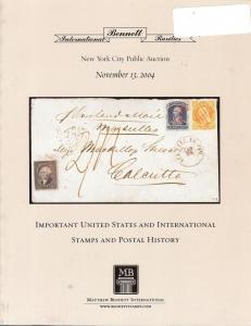 Bennett International Rarities - Important United States ...