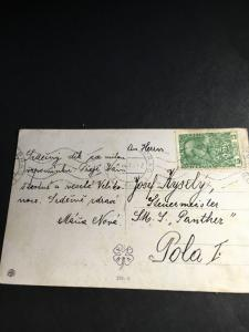 Czechoslovakia Austro-Hungarian Empire Austria #B1 Pays Post on 1915 Easter Card