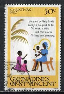 St Vincent Grenadines: 1980; Sc. #195, O/Used Single Stamp