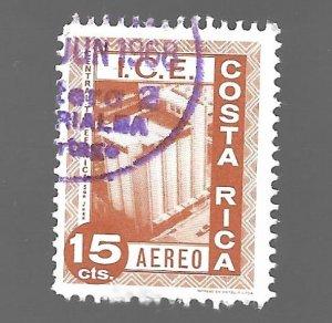 Costa Rica 1967 - U - Scott #C439
