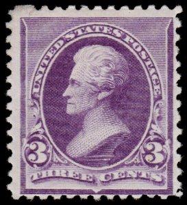 United States Scott 221 (1890) Mint H F, CV $55.00 M