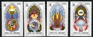 Vatican City MNH mint 1046-9 eucharist conference      (Inv 001771.)