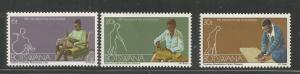 BOTSWANA  274-276  MINT HINGED,  INTERNATIONAL YEAR OF THE DISABLED
